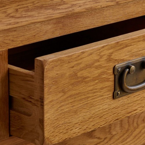 French Rustic Solid Oak 2+3 Chest Of Drawers