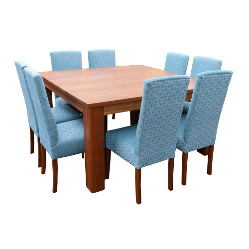 Fusion 8 Chairs and Dining Table