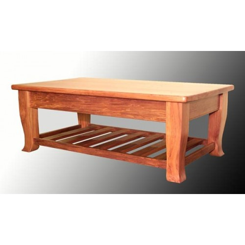 Geo 1200 x 700 Coffee Table with Rack