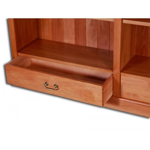 Geo Bookcase 1000 x 1500 with Drawers