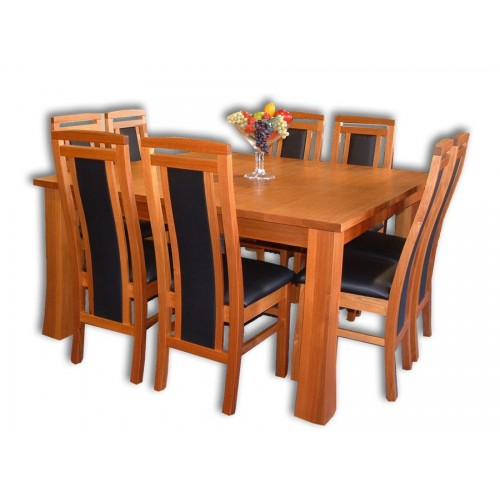 Kea 8 Chairs and Dining Table