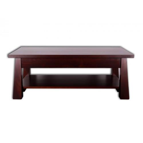 Oke Coffee Table with Drawer & Rack 1200 x 650