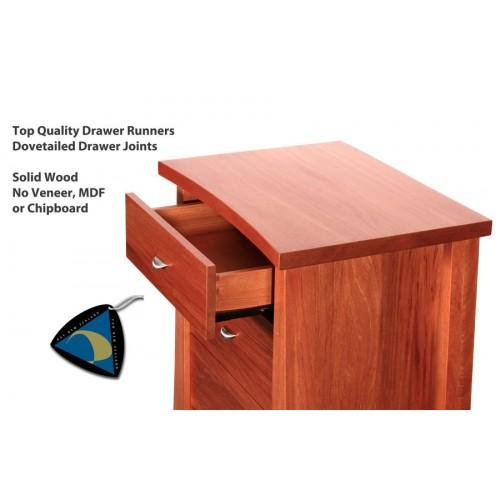 Oke 3 Drawer Bedside cabinet