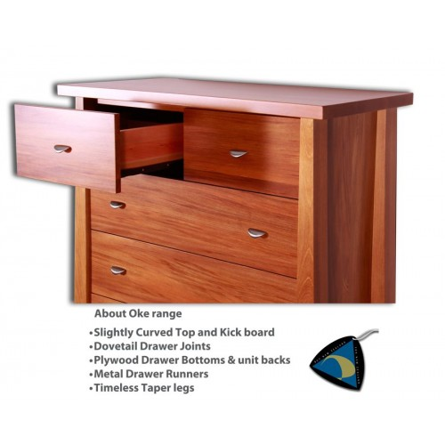 Oke 6 Drawer Scotch Chest