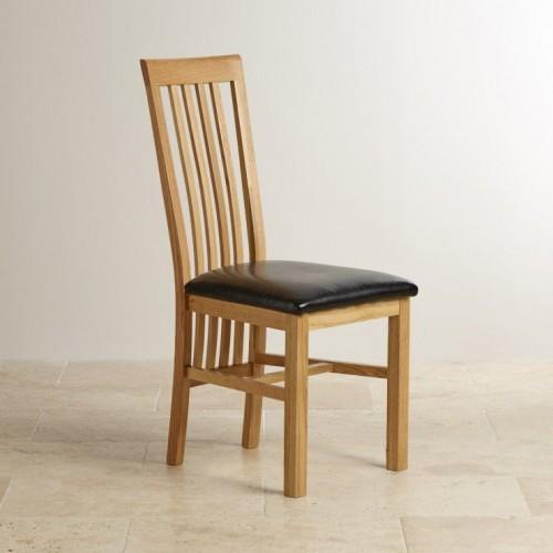 Osaka Solid Oak Slat Back Dining Chair