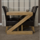 Zara Oak Dining Table