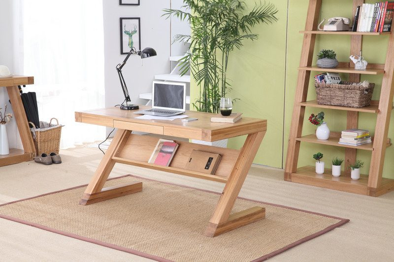 Zara Oak Small Study Desk