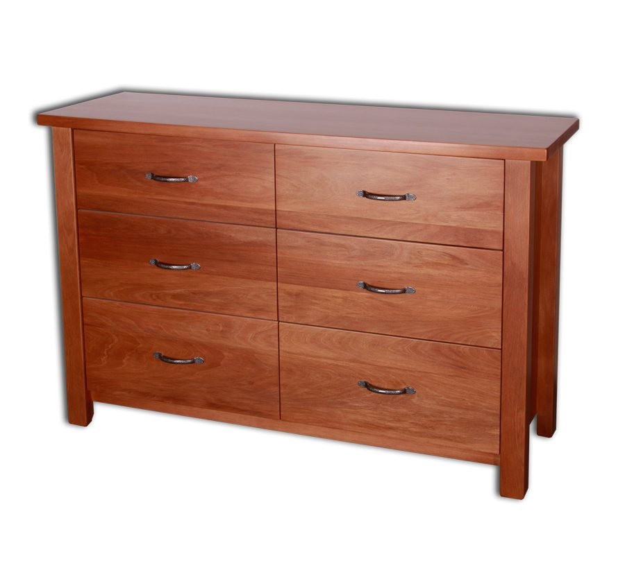 Bella 6 Drawer Lowboy