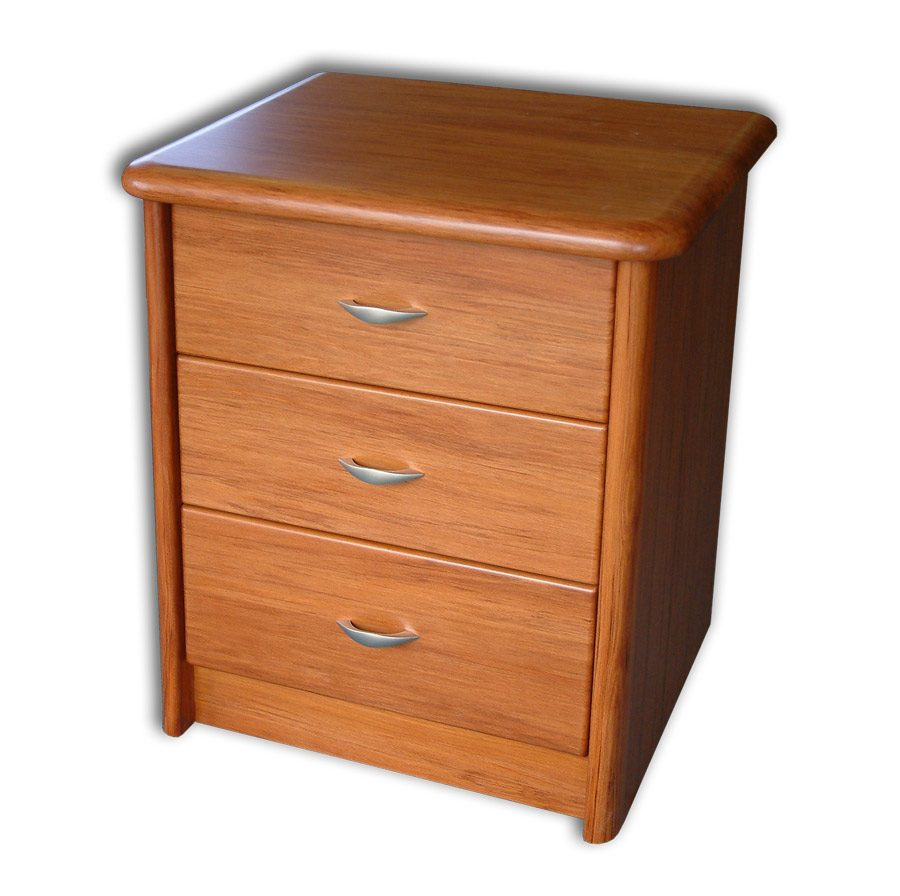 Euphoria 3 Drawer Bed Side cabinet