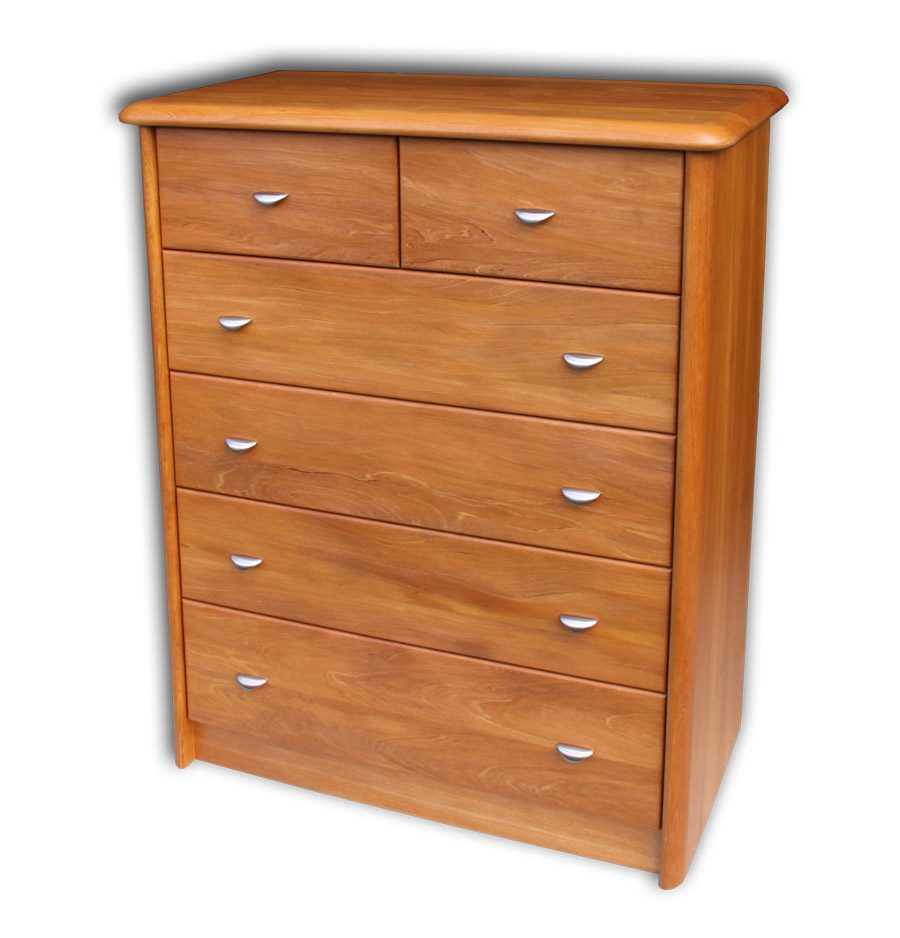 Euphoria 6 Drawer Wider Tallboy