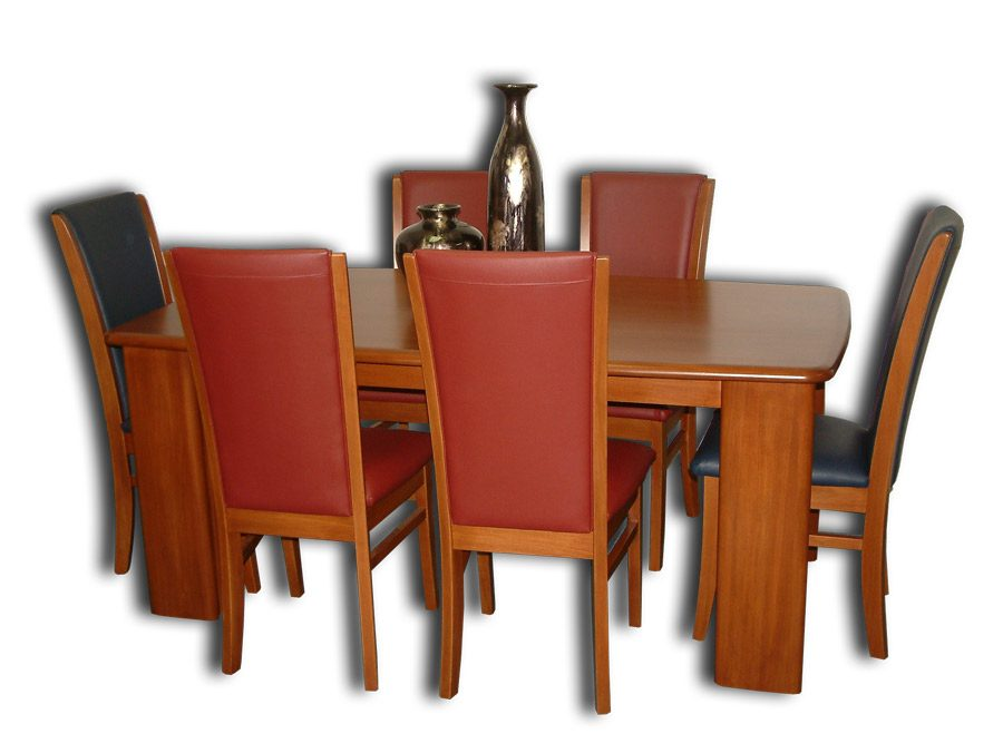 Euphoria 8 Chairs and 2100 x 1050mm Dining Table