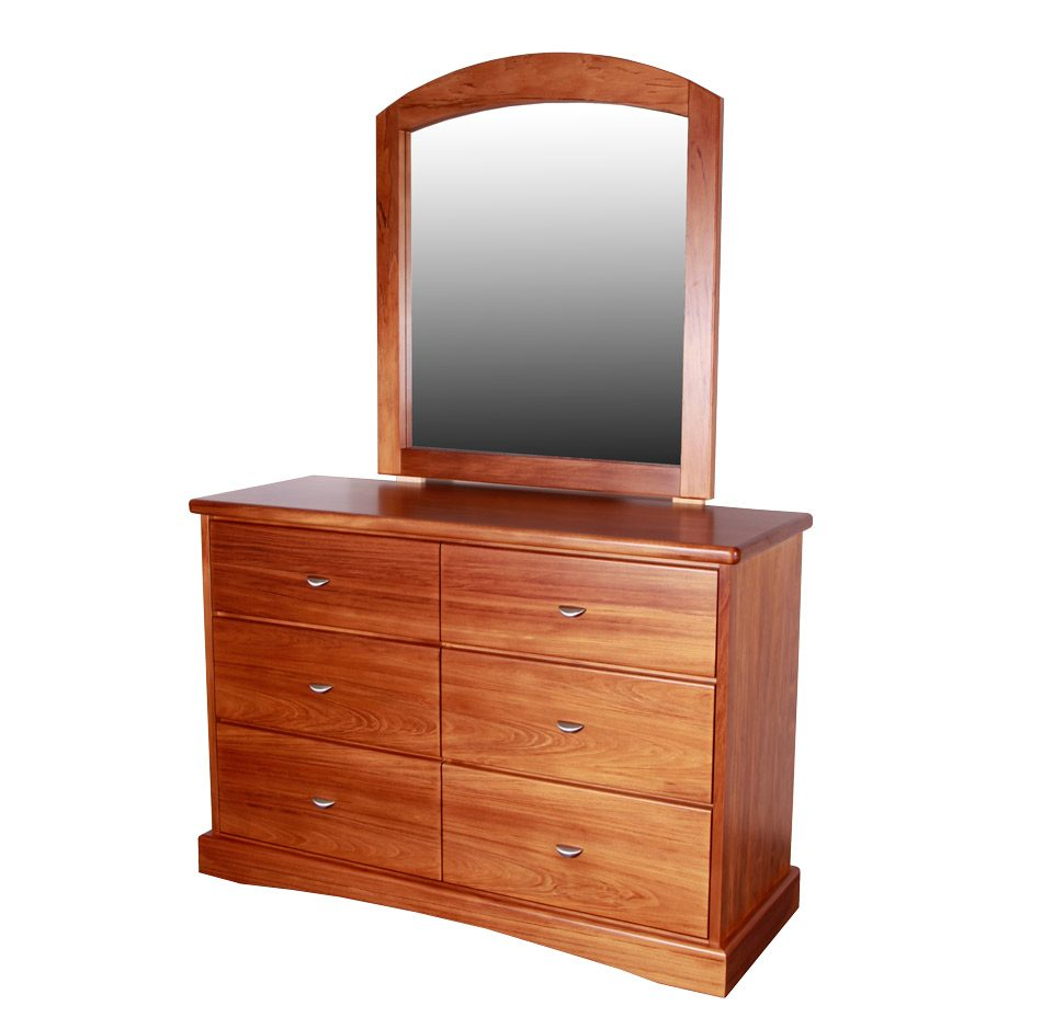 Geo 6 Drawer Small Dresser