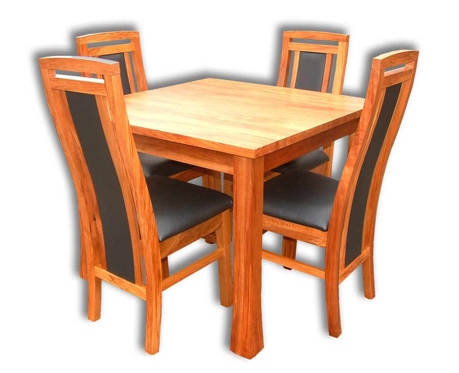 Kea 4 Chairs and Dining Table