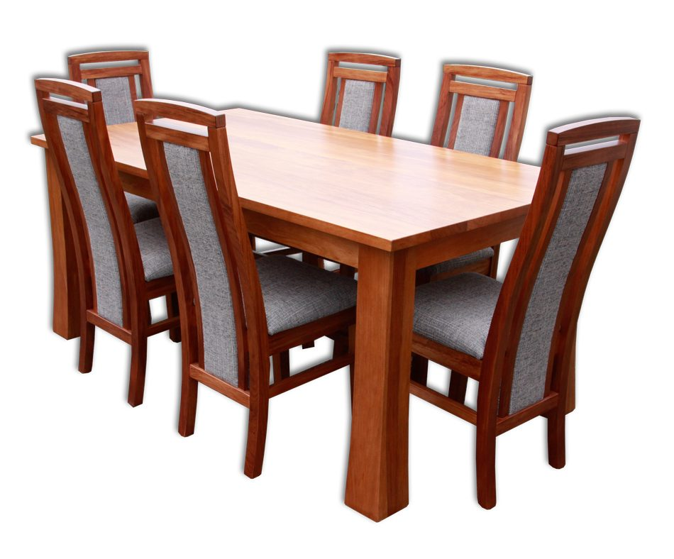 Kea 6 Chairs and Kea Dining Table