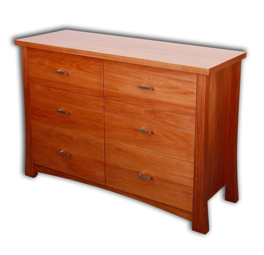 Kea 6 drawer Lowboy