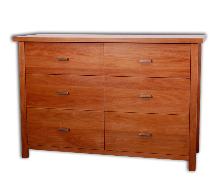 Nero 6 Drawer Lowboy