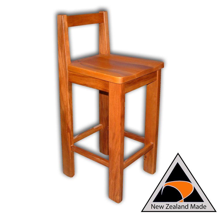 Woodland Bar Stool With Back