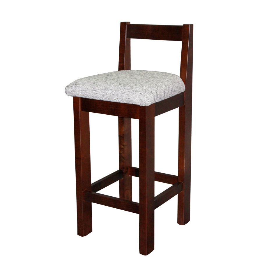Woodland Bar Stool With Fabric Seat