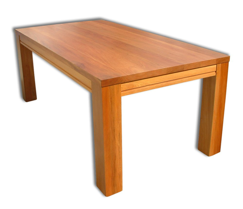 Nero 2100mm Solid Top Dining Table