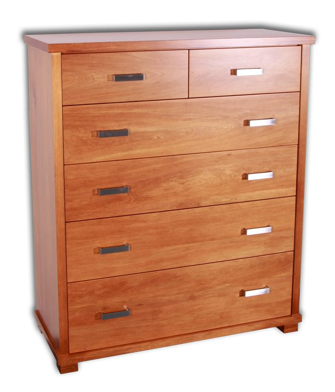 Zee 6 Drawer Tallboy